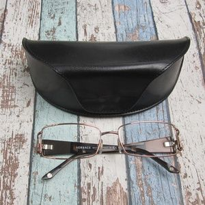 Versace 1163-B 1013 Womens Eyeglasses/Italy/OLN318